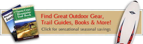 Santa Cruz Area Outdoor Guide Books & Maps