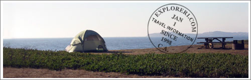 Santa Cruz, California Campgrounds