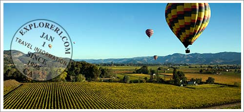 Napa Valley, California Travel Information and Vacation Planner